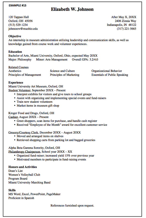 Museum Administration Resume Sample  HttpExampleresumecvOrg