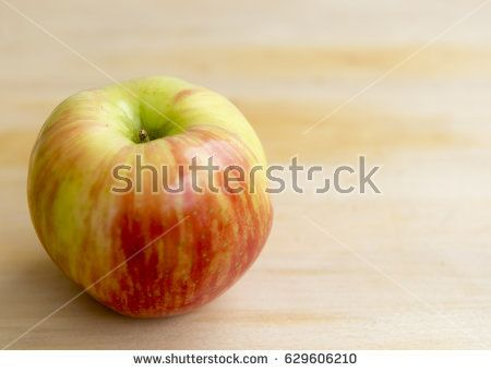Single Red and Yellow Apple