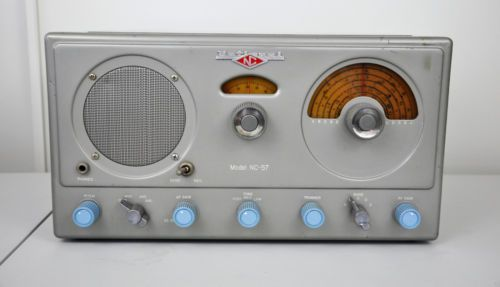 VTG-1949-National-NC-57B-Shortwave-HAM-Amateur-Radio