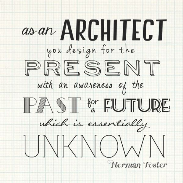 Architects have built for man kind in the past and will for Architecture quotes