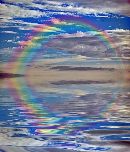 rainbow reflection nice pictures raicom pinterest regenb gen blitze und wolke. Black Bedroom Furniture Sets. Home Design Ideas