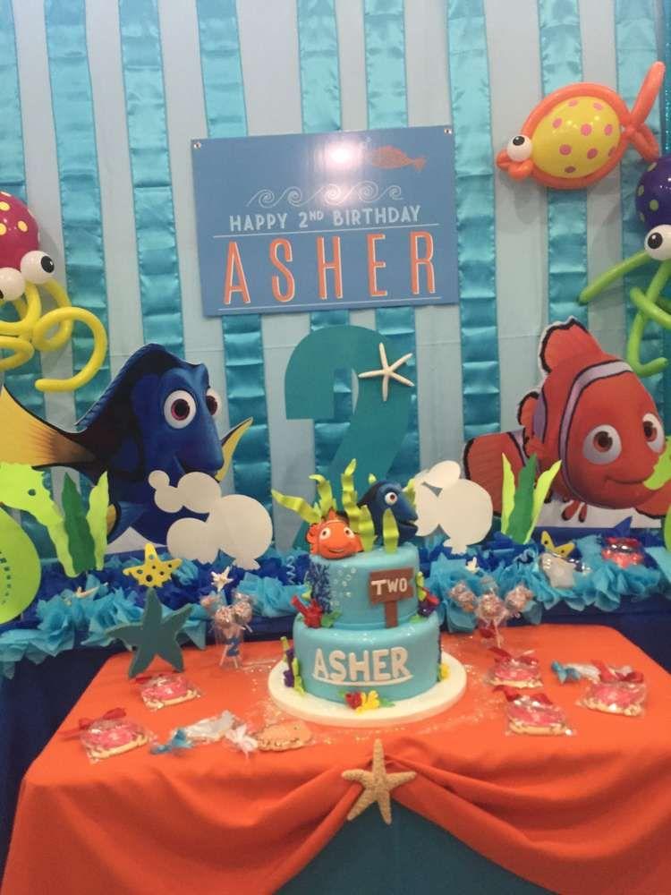 Finding nemo birthday party ideas fiestas de piscinas for Ideas para cumpleanos en piscina