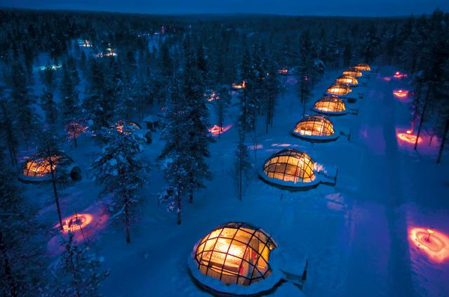 igloo village, finland