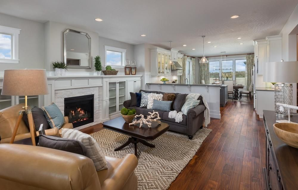 The Ashford New Tradition Homes Dream Living Rooms Home Model Homes