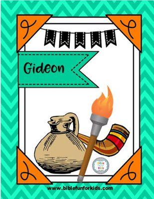 Gideon   Sunday School   Pinterest