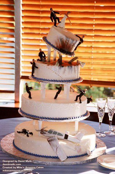 top 27 des gateaux de mariage insolites et originaux (vraiment