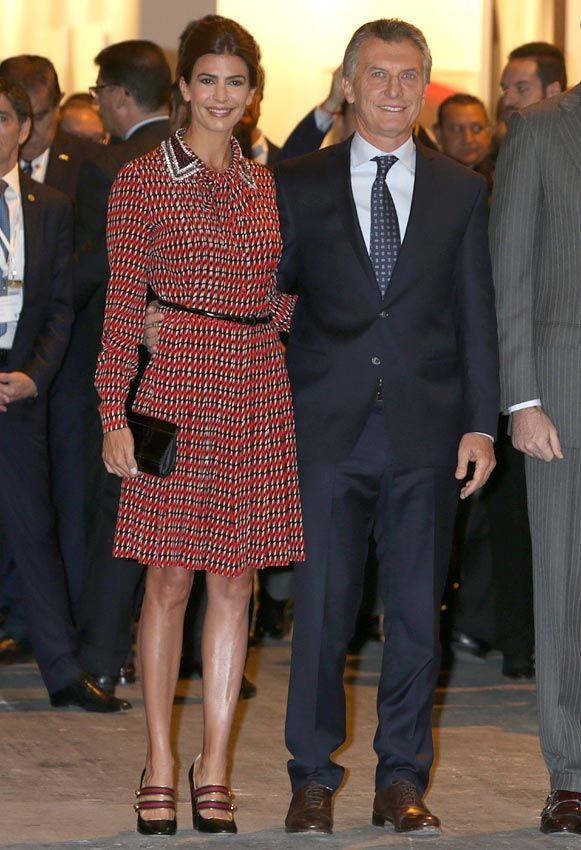 La reina Letizia y Juliana Awada, duelo de estilo, en Madrid