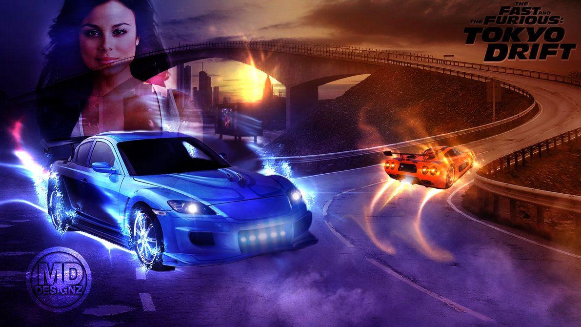 Fast Furious Tokyo Drift Hd Celebrity Wallpaperhd Celebrity