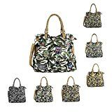 OBC LADIES MILITARY BAG Shopper Camuflaje Parches Bolso Lona Bandolera Messenger Bag Army Ladies Bag Sticker Bolsa de viaje Bucket Bag A4 Beige  – Boda fotos