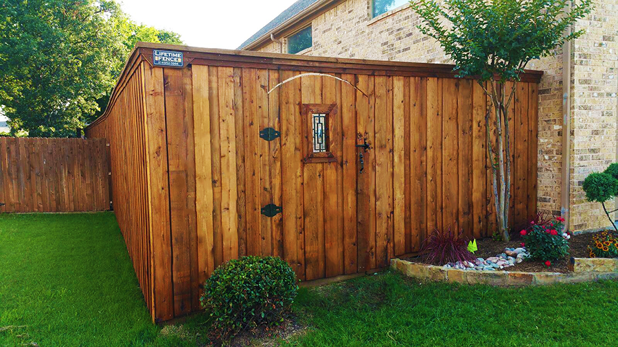 Wood Fence Types Denton Backyard Wood Fences Deck Fence