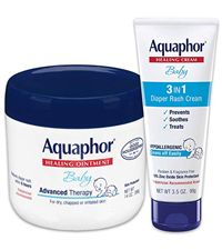 Aquaphor Baby Skin Care Set - Fragrance Free, Prevents, Soothes and Treats Diaper Rash