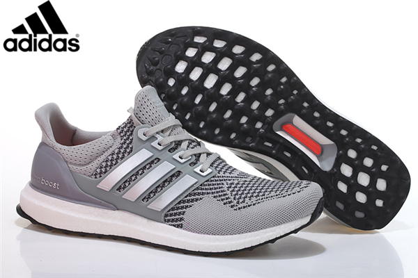 differently 08b65 8ecb0 Men s Women s Adidas Running Ultra Boost Shoes Grey Silver,Adidas-Ultra  Boost Shoes Sale Online