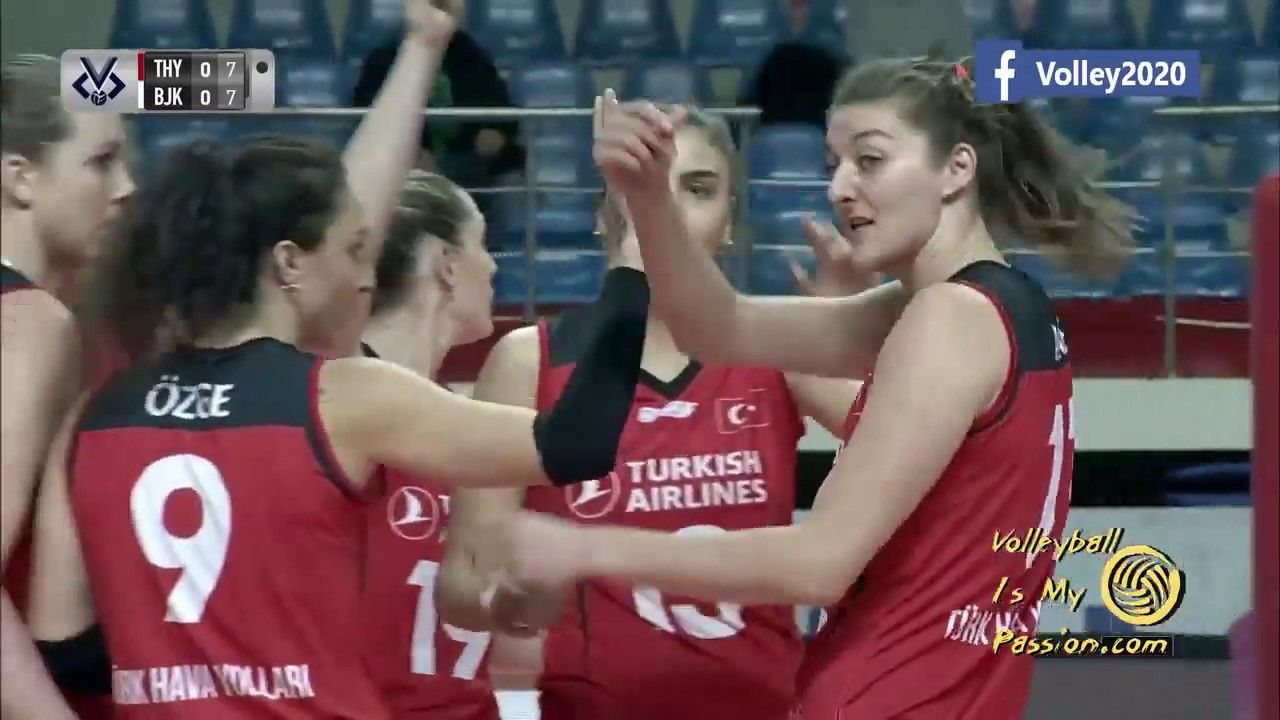 2019 2020 Axa Sigorta Kupa Voley Besiktas Vs Thy 07 12 2019