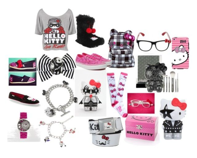 Hello Kitty fashion from Polyvore