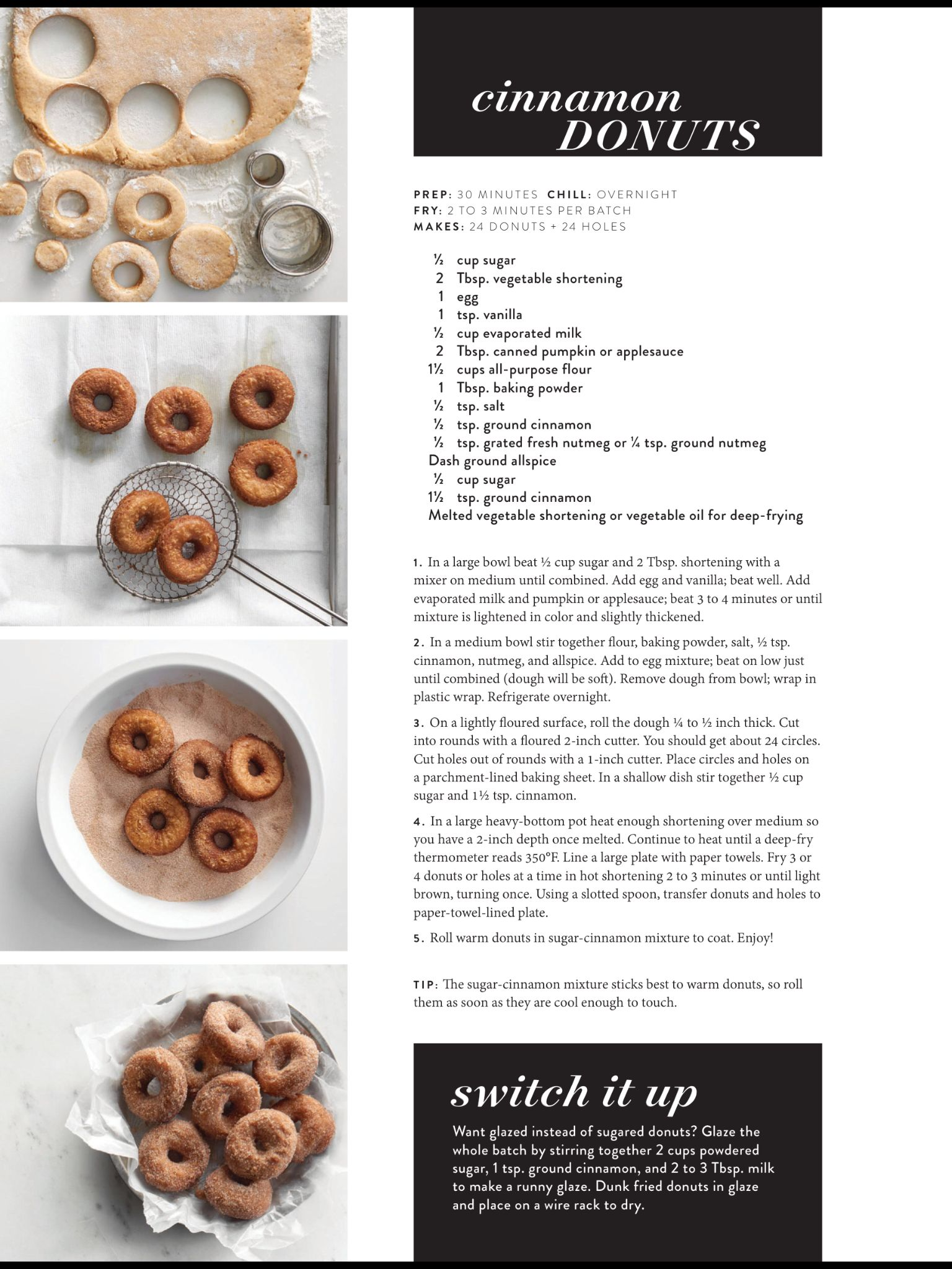 """""""Hot Mini Donuts"""" from The Magnolia Journal, Fall 2018"""