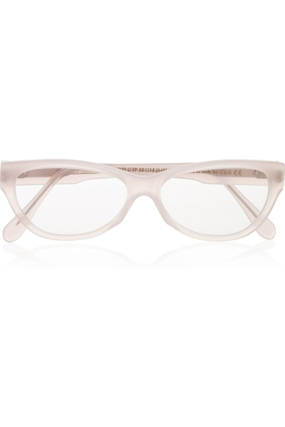 b746dbf38a1 CUTLER AND GROSS Cat eye-frame acetate optical glasses