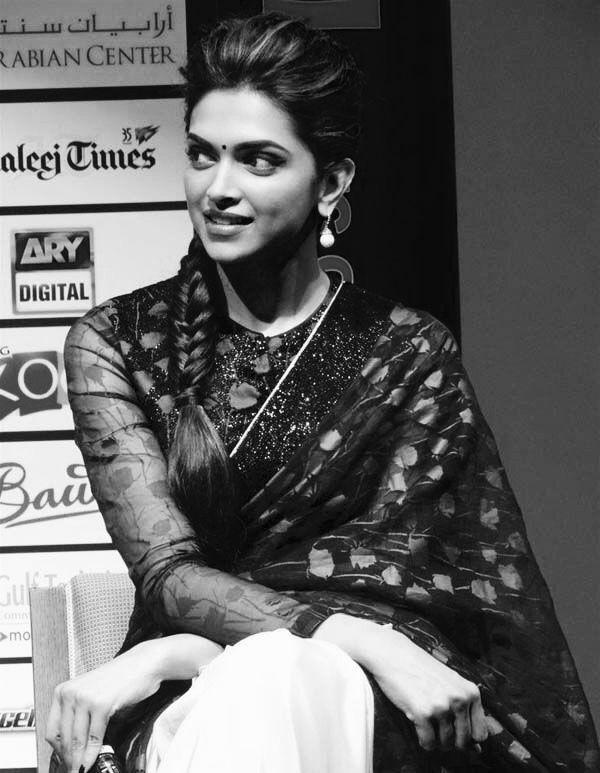 Deepika Padukone   Indian hairstyles, Traditional ...