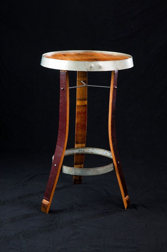 Wine barrel table reciclando barriles de vino barriles - Barriles de vino ...