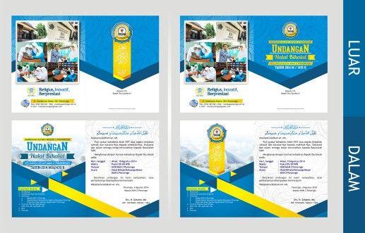 Desain Undangan Halal Bihalal Man 2 Ponorogo Desain Places To
