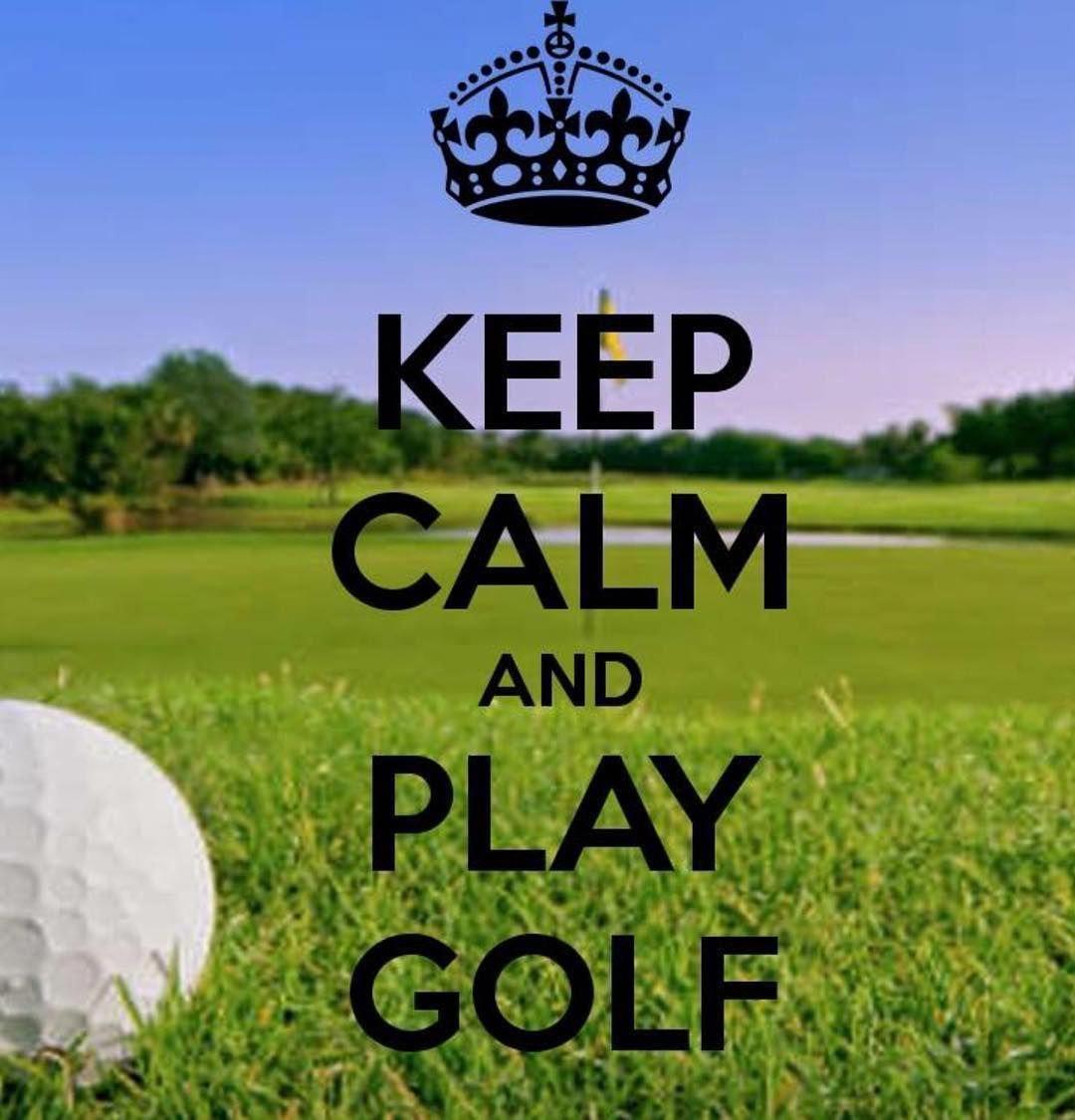 Keep calm and play golf golfer igolf iplaygolf