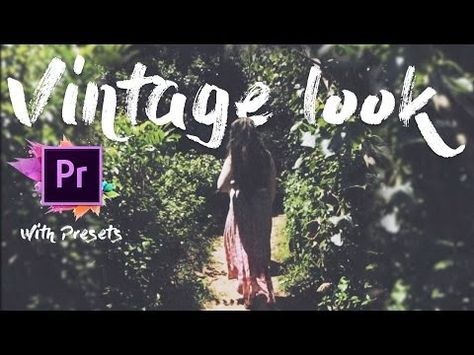 Pin By Sajidah On Songs Premiere Pro Tutorials Adobe Premiere Pro Vintage Graphic Design