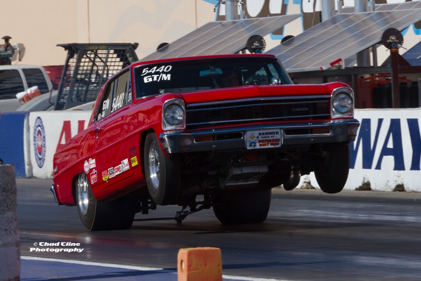 Nhra Drag Racing Chevy Nova Wheelie Wheelsup Chevrolet Fontana Drag Car Drag Racing Cars Drag Racing Old Race Cars