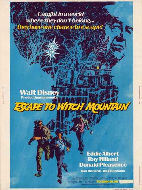Escape To Witch Mountain Disney Movie Posters Movie Posters