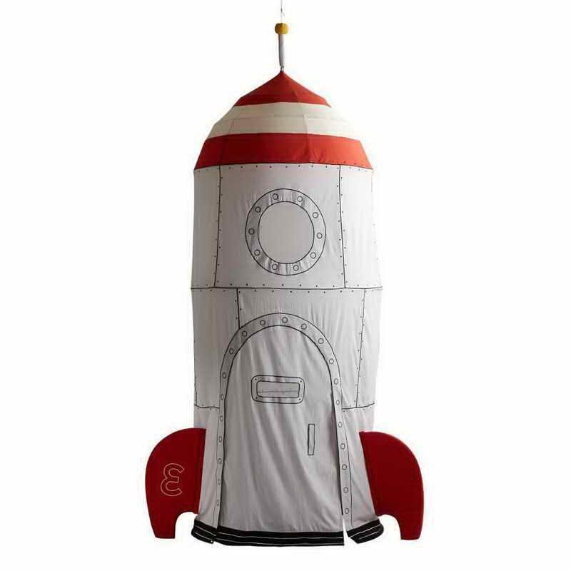 Rocket Ship Tent Pottery Barn Met Afbeeldingen