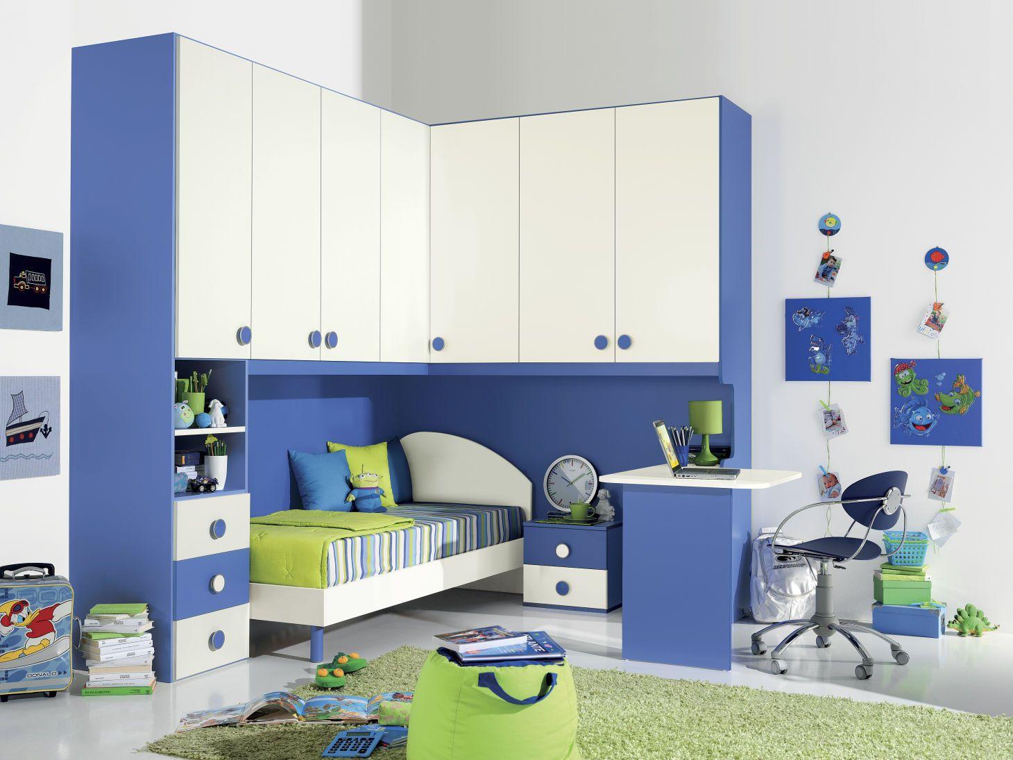 Le camerette Girotondo Camerette, Design della camera da
