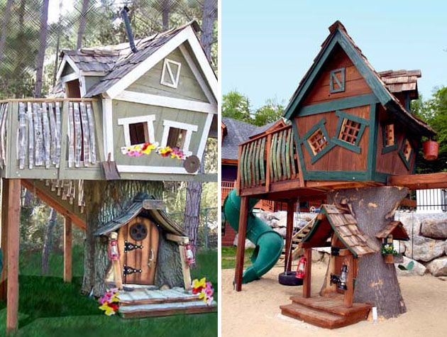 20 creative kids treehouses for your summer yard - Cool Kids Tree House