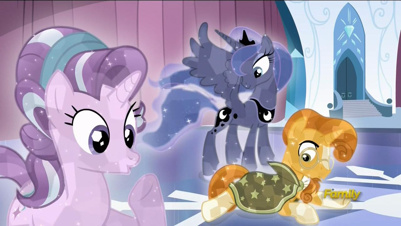 Starlight Glimmer, Princess Luna & Sunburst | MLP: Friendship is ...