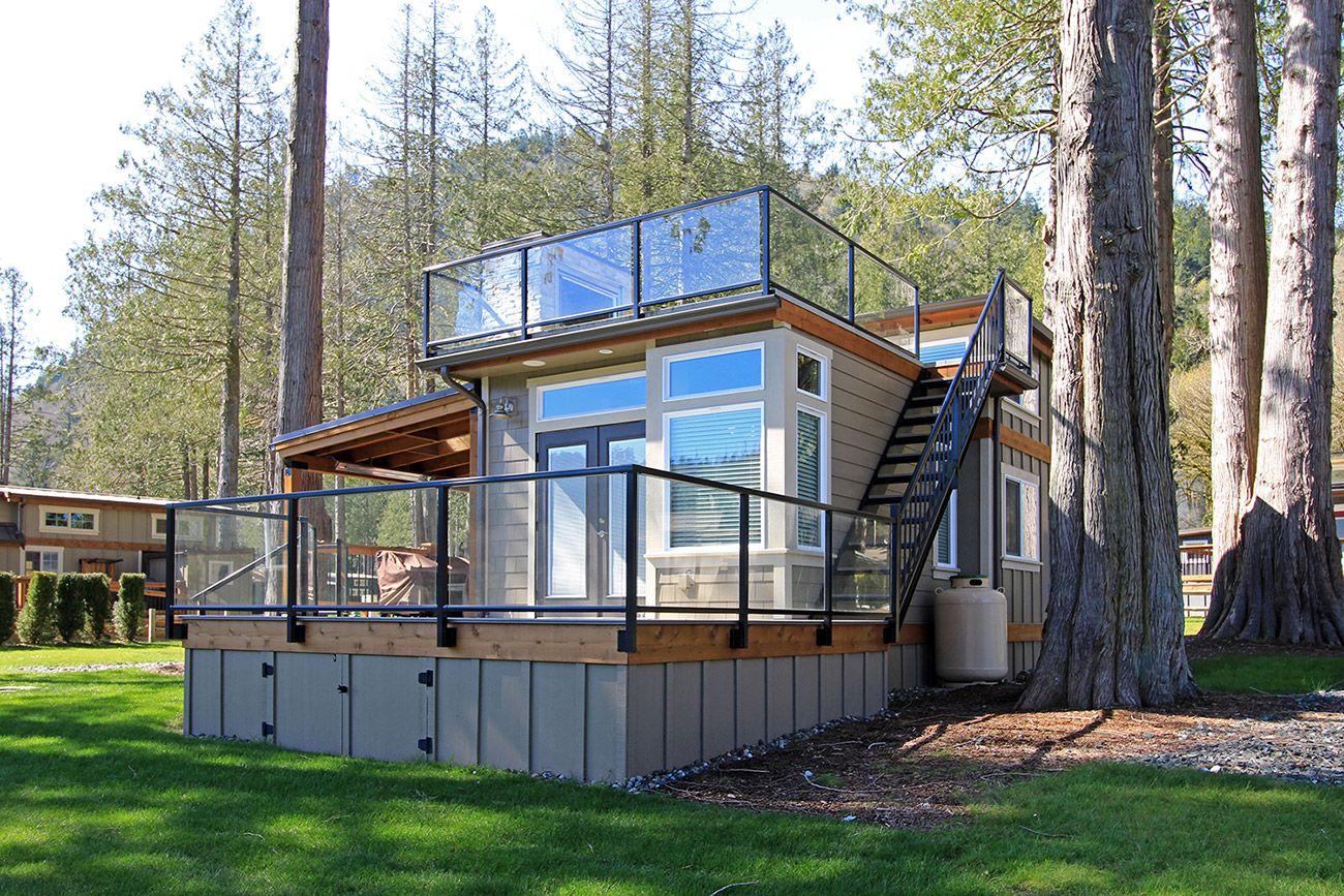 Best West Coast Homes San Juan Park Model For Wildwood 400 x 300
