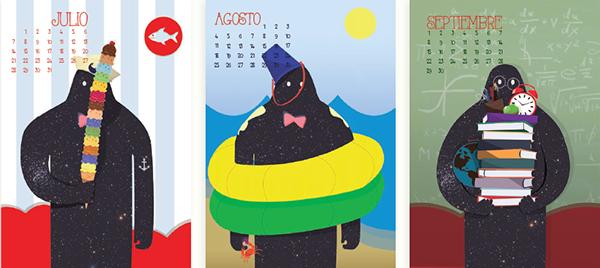 Calendario 2014 on Behance