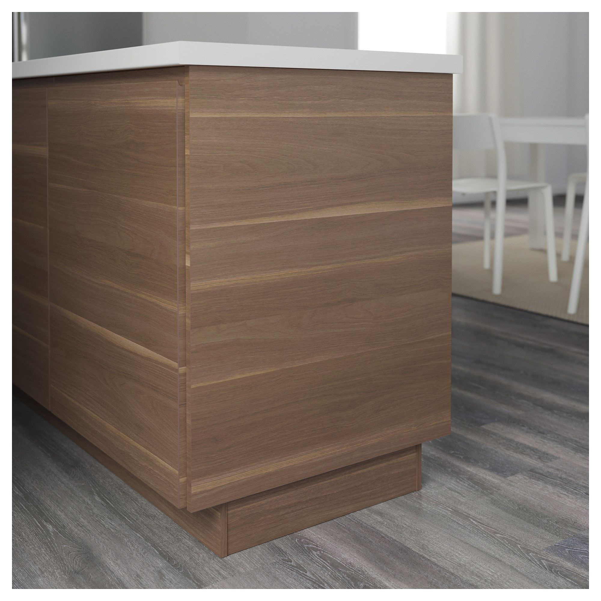 Ikea Küchenfronten Voxtorp Voxtorp Cover Panel Walnut Effect Products Kitchen