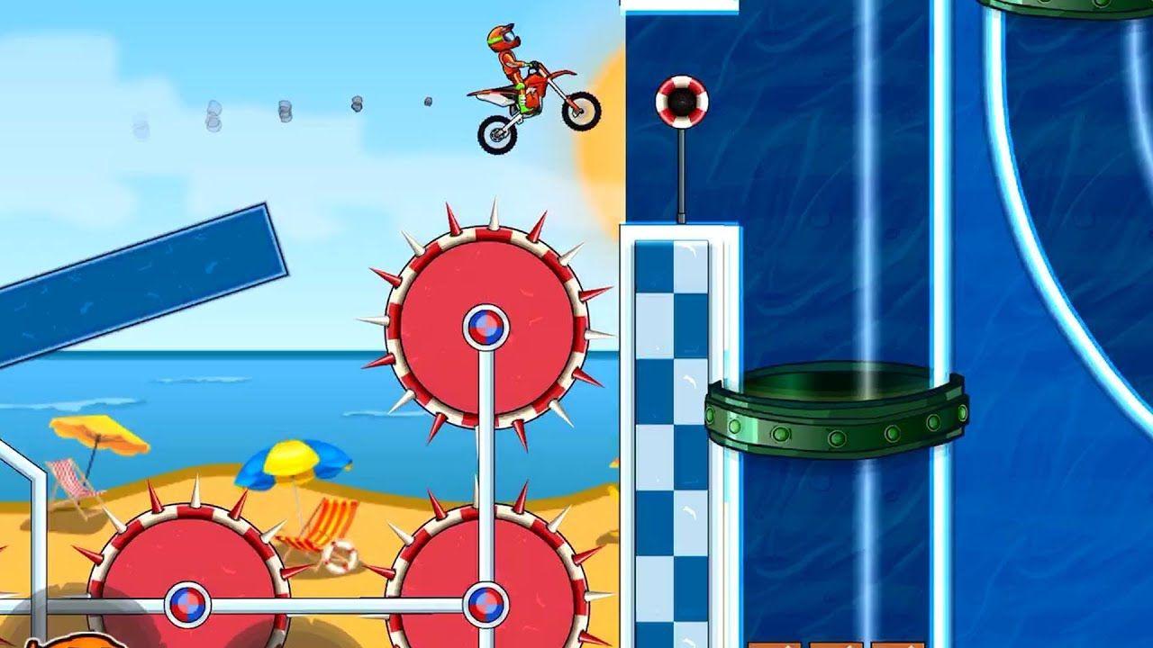 Moto X3m Bike Race Gameplay Walkthrough Level 20 25 Android