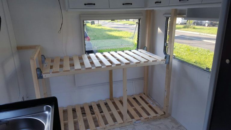 Ein Hochbett im Wohnwagen bauen - Caravanity | happy campers lifestyle