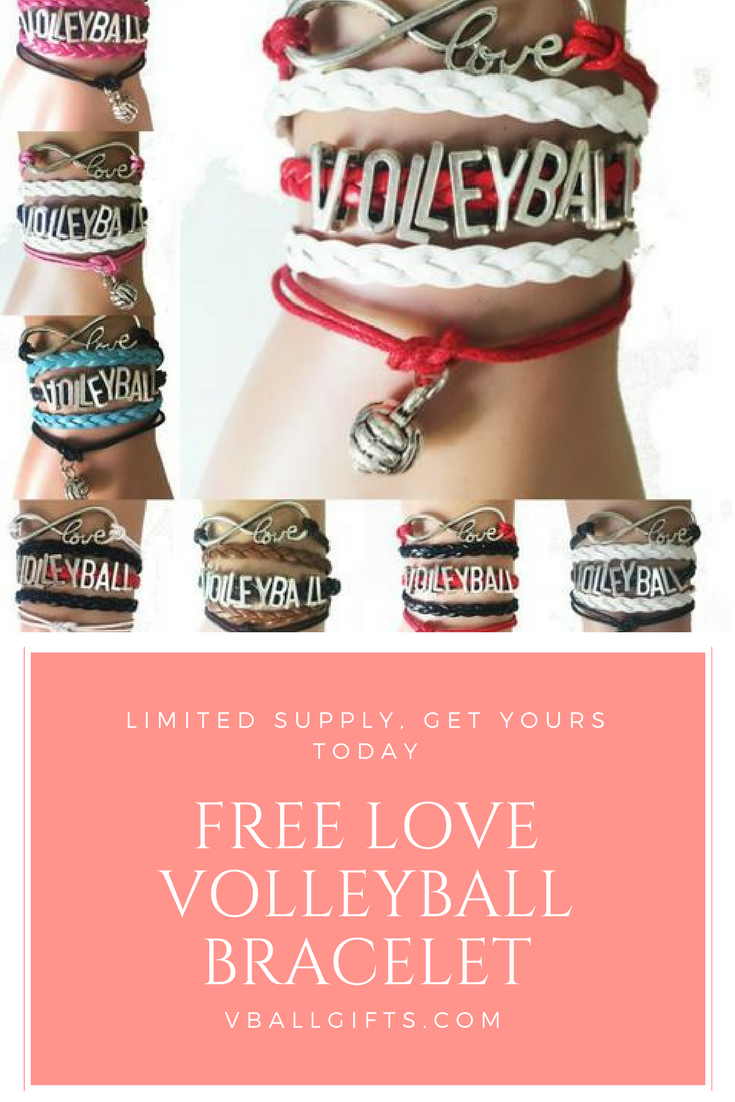 Love Volleyball Bracelets Are The Perfect Gift For Any Volleyball Lover For A Limited Time Snag Yours Now Befo Volleyball Bracelets Italian Charm Bracelet