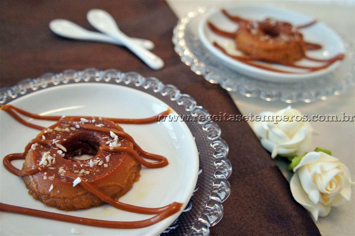 Uma gracinha de mini pudim, com um sabor maravilhoso, a deliciosa combinação de doce de leite com coco em forma de pudim, muito lindinho e delicado preparar em porções individuais para jantares ou festinhas, é sucesso garantido e muito simples de fazer. Leia mais...