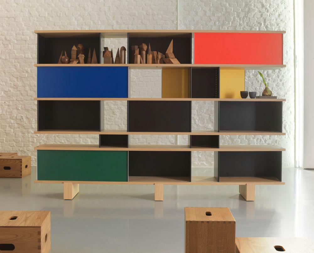 histoire de design charlotte perriand le japon bibliothèques ... - Meuble Design Japonais
