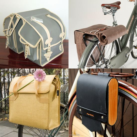 junk in the trunk stylish bike panniers to ease your load