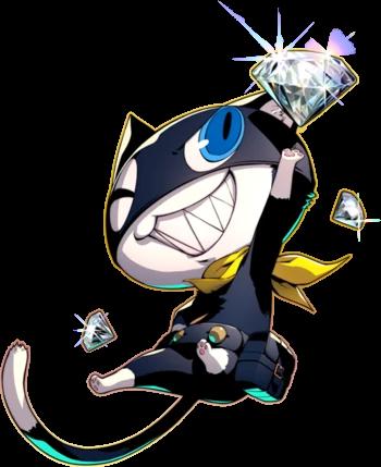 Morgana Megami Tensei Wiki Fandom Persona 5 Anime Persona 5 Persona Five