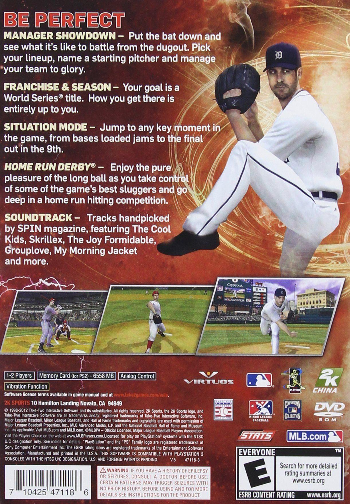 Major League Baseball 2k12 Playstation 2 Visit The Image Link