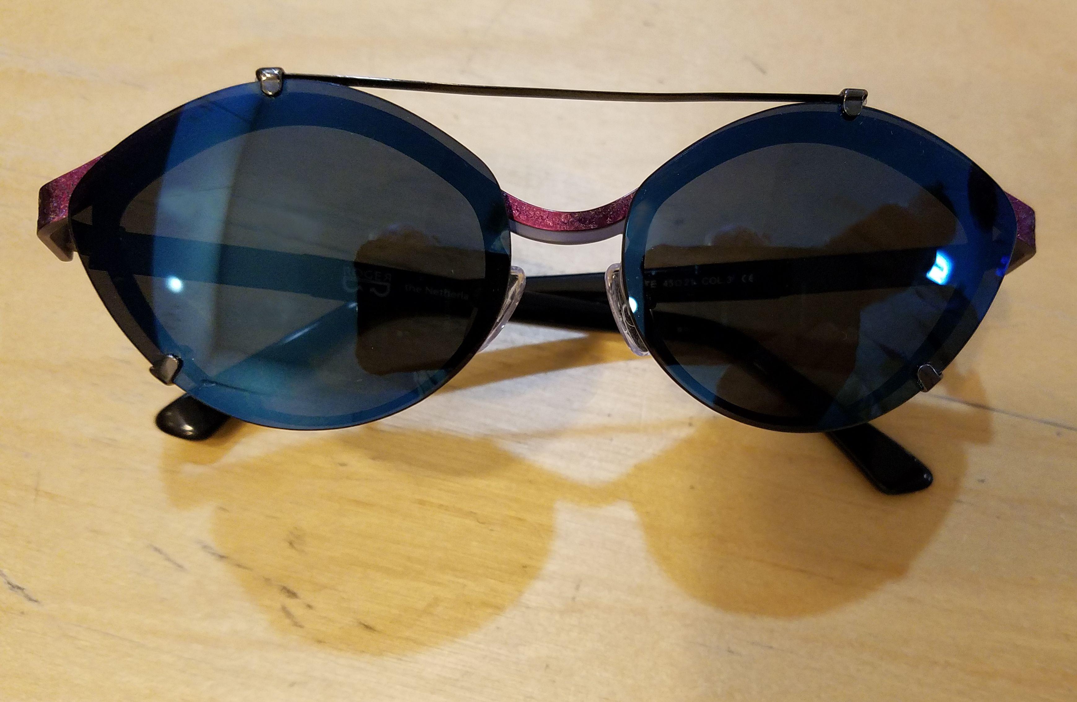 5bb0934e64 Custom made Nu-Clip onto a great Roger Eyewear frame.