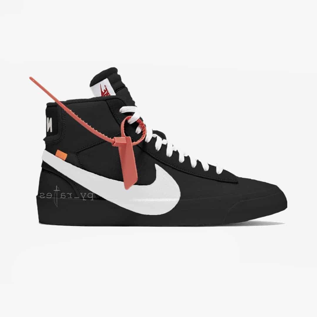 Off Blanco x Nike Blazers Studio Blazer Mid Negro  Blazers Nike 324fa3 b8be72