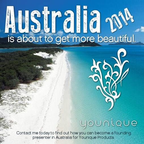 Are you interested in #DirectSales and #NetworkMarketing? #Younique is launching in the UK and Australia in 2014! If you have connections there, TODAY is the day to start your business and be a part of the explosion of growth. Any growth in these Countries must start with a US or Canadian Presenter. Imagine how your life would change if that was you? Message me for more info. www.YouniqueByWendy.com