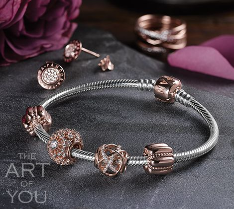 FALL IN LOVE WITH PANDORA ROSE™ | Jewelry on the move | Pinterest ...