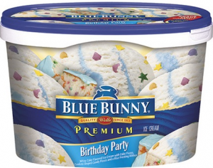 Marvelous Blue Bunny Ice Cream Only 2 49 At Shaws Thru 5 30 With Printable Funny Birthday Cards Online Hendilapandamsfinfo