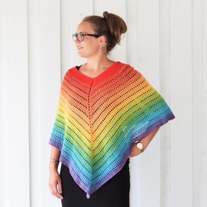Classical Attitude Poncho - Adult Size   Crochet poncho ...