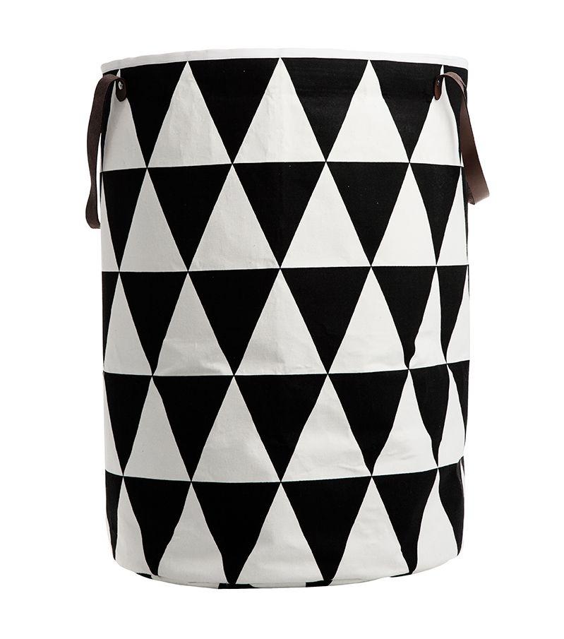 Modern Ferm Living Triangle Laundry Basket
