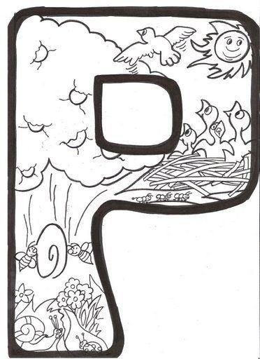 Letras Primavera Para Colorear Ae118c5ad50cc8a6301f04afc89a